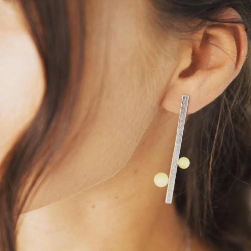 """""""Delicate"""" earrings No1"""