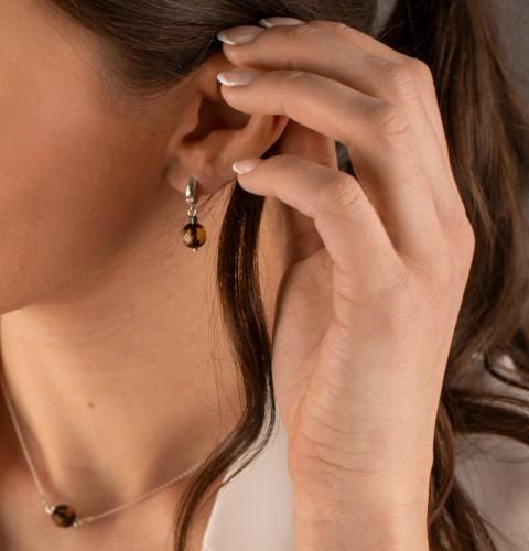 """""""Sun drops"""" earrings N010"""