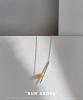 """""""Sun drops"""" neck accessories No14"""