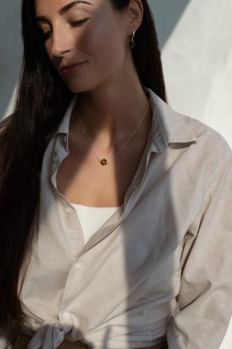 """""""Sun drops"""" neck accessories No16"""