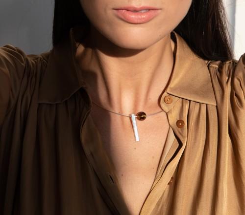"""""""Sun drops"""" neck accessories No11"""