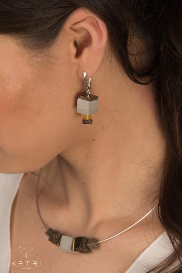 """""""Urban&Nature"""" earrings No2"""