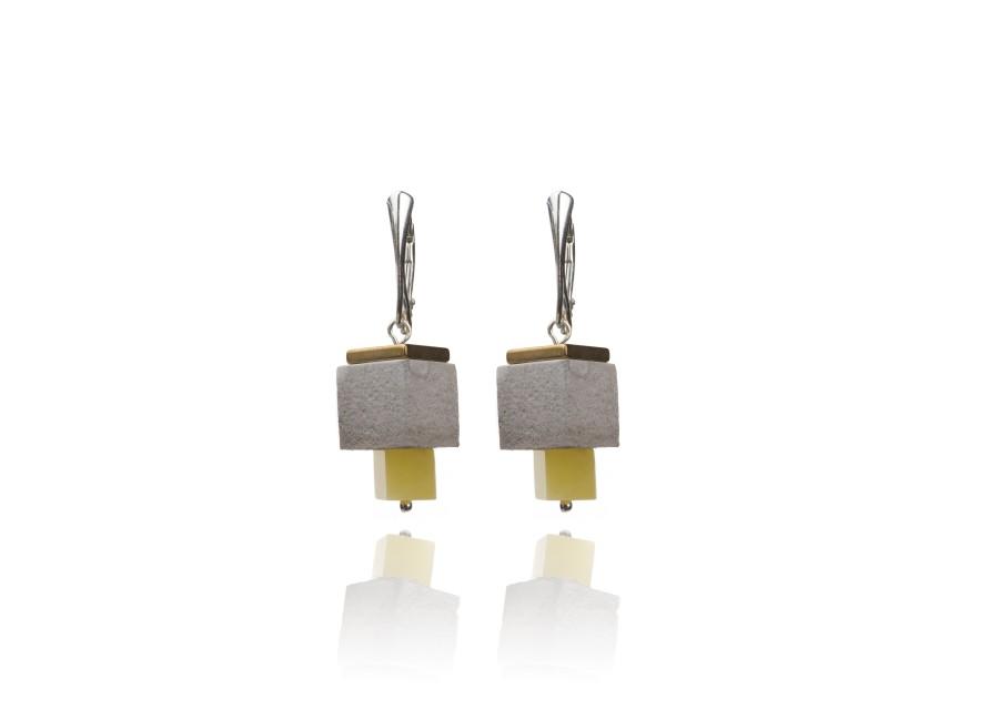 """""""Urban&Nature"""" earrings No3"""